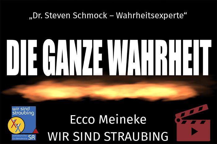 """Das Video-Fenster 'Ecco Meineke alias """"Dr. Steven Schmock"""" :: """"So werden wir verarscht! – Die ganze Wahrheit!""""' anzeigen ..."""
