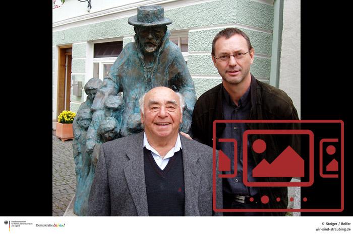 Das slideshow-Fenster mit begleitenden Bildern zu unserer Exkursion nach Günzburg anzeigen ...