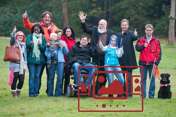 Das slideshow-Fenster mit Bildern von Armin Weigel zur Foto-Promo-Aktion anzeigen ...