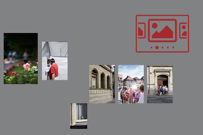 """Das slideshow-Fenster mit begleitenden Bildern zur Veranstaltung '""""Schalom Straubing – Jüdisches Leben in unserer Stadt""""' anzeigen ..."""