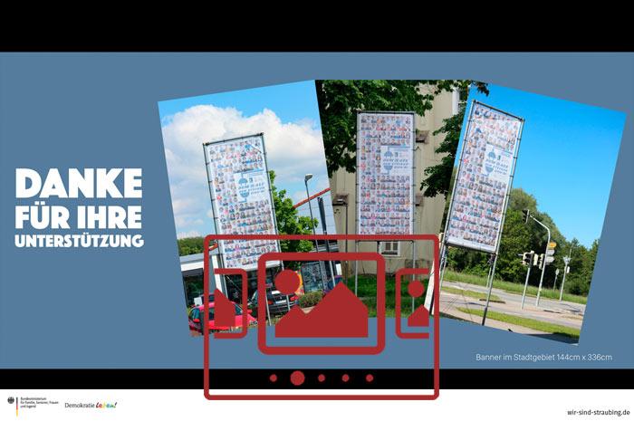 """Sie sehen Grafiken und Bilder zu unserer Kampagne """"Dem Hass den Stecker zieh'n"""" ..."""