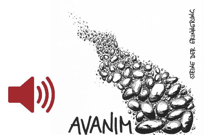 """Das Audio-Fenster """"Steine der Erinnerung"""" des Ensemble Avanim (Wien) anzeigen ..."""