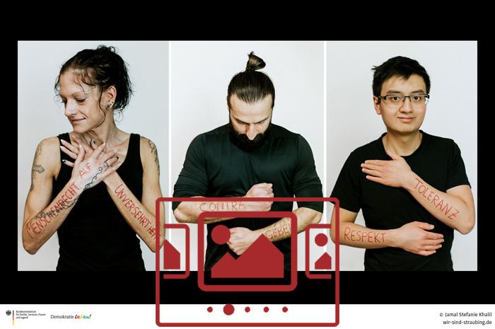 Das slideshow-Fenster mit Bildern zur Foto-Aktion 'Toleranz Mensch :: Zwei Fotoprojekte zum Nachdenken' anzeigen ...
