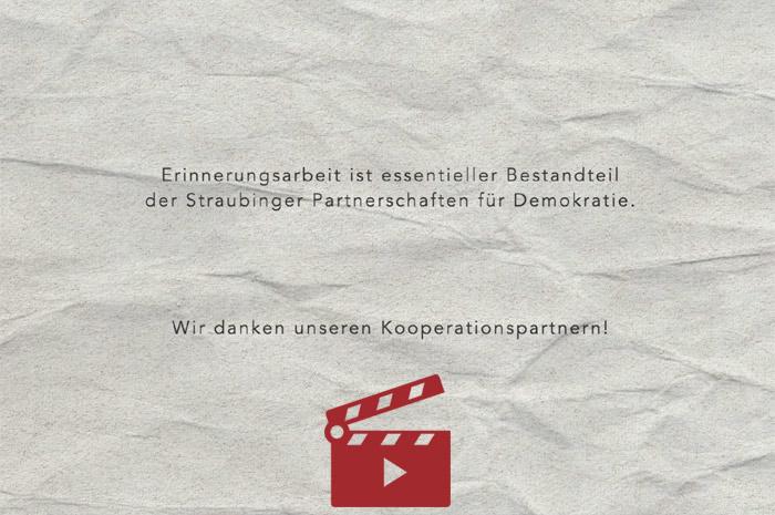 Das Video-Fenster '#WeRemember' anzeigen ...