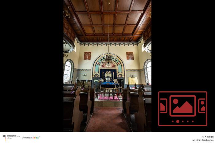 Impressionen von der Synagoge - Innenansichten :: Kamera: Armin Weigel