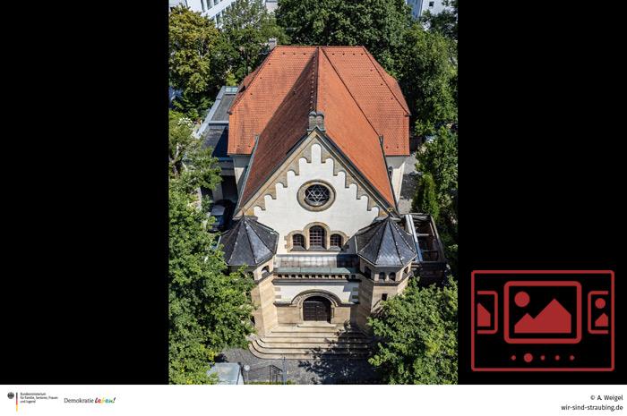 Impressionen von der Synagoge - Aussenansichten :: Kamera: Armin Weigel