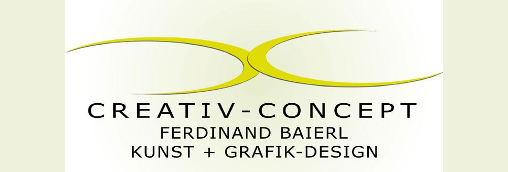 Das Logo des Grafikers Ferry Baierl - CREATIV-KONZEPT