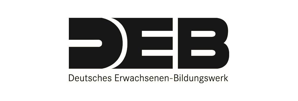 Das Logo des Deutschen Erwachsenen-Bildungswerk (DEB)