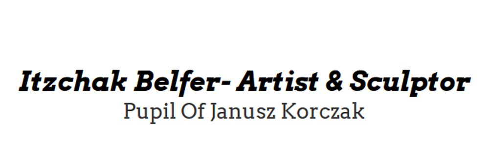 Das Logo von Itzchak Belfer - Holocaus Artist & Sculptor