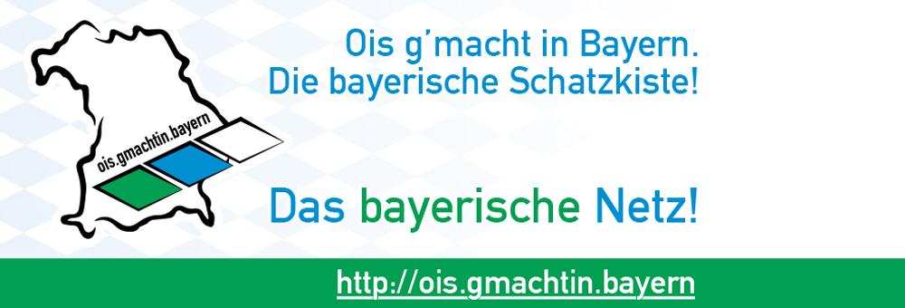 Das Logo von OIS.gmachtin.bayern - Das bayerische Netzwerk-Portal.