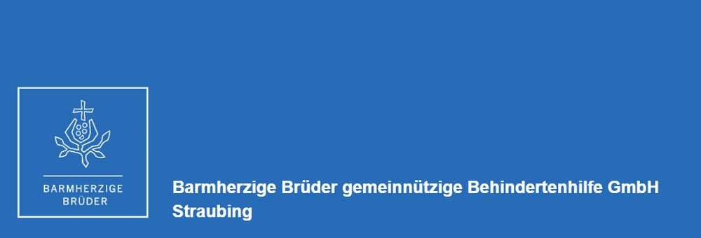 Das Logo der Barmherzigen Brüder in Straubing