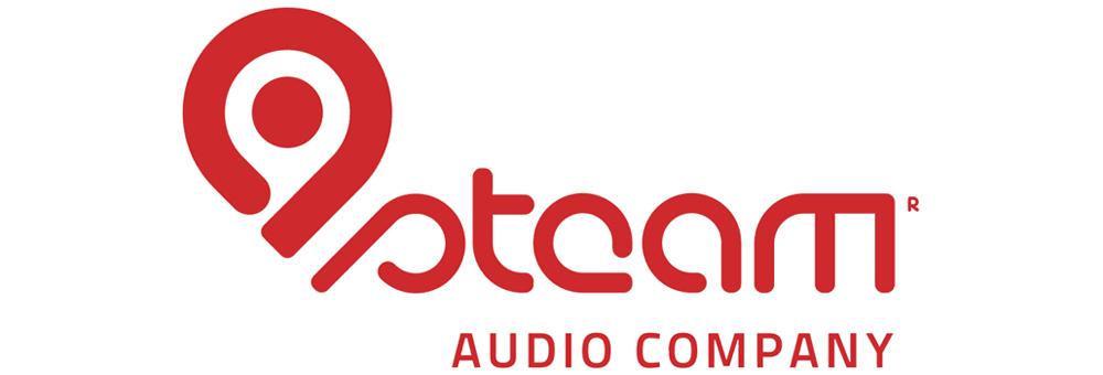 Das Logo von steam AUDIO COMPANY